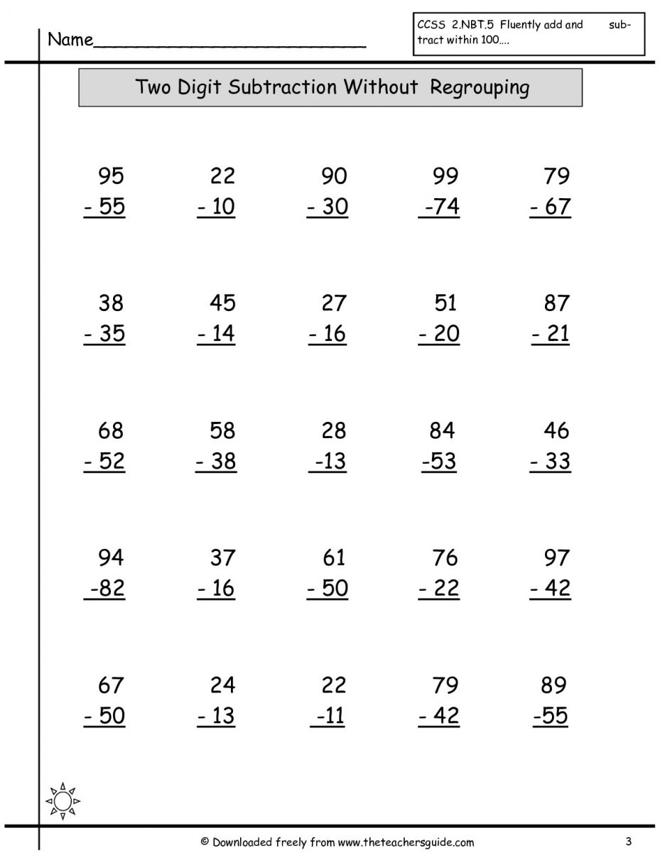 Free Printable Math Worksheets Grade Scalien Images About Madi On