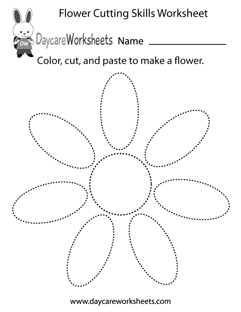Free Printable Preschool Flower Worksheets 31962
