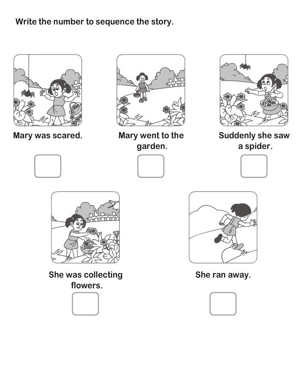 Free Printable Sequencing Worksheets For Kindergarten Fresh 13