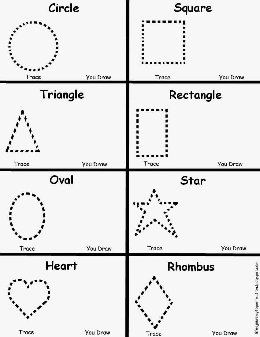 Free Printable Shapes Preschool Worksheets The Best Worksheets