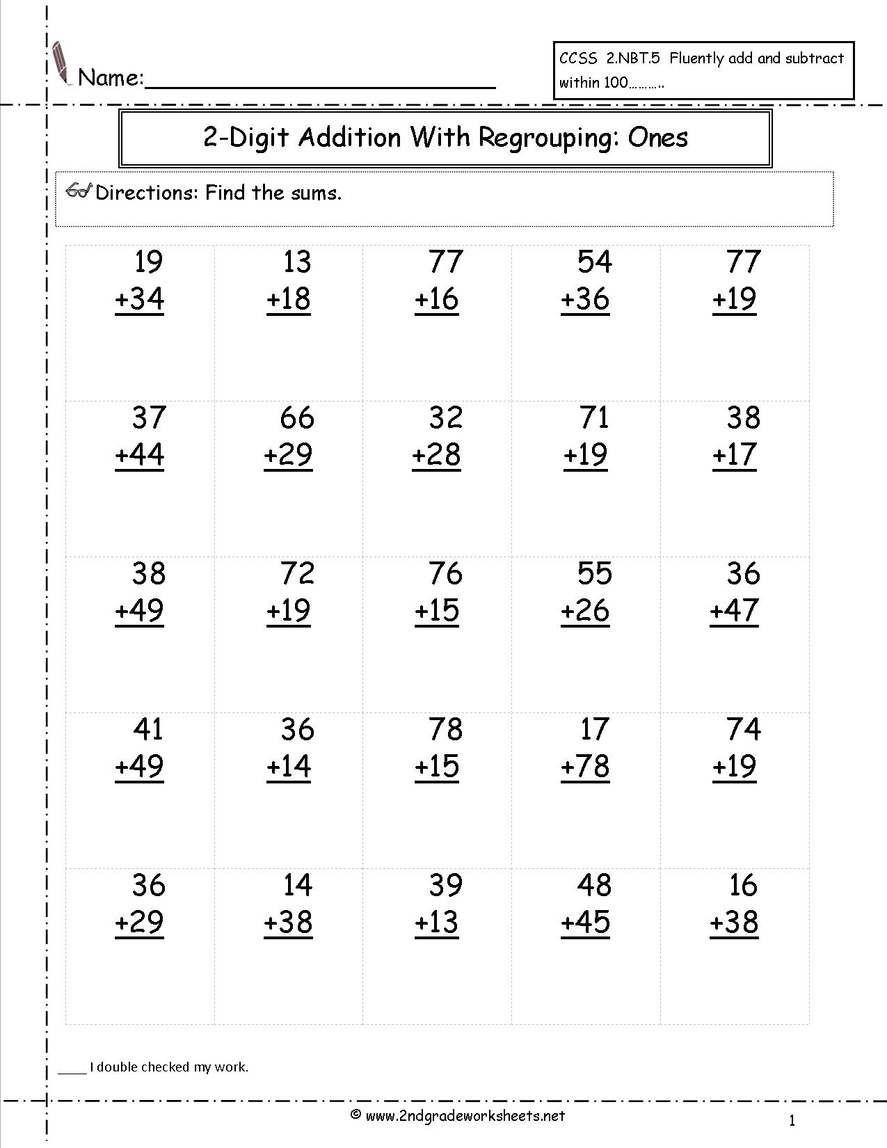 Free Worksheet Printouts The Best Worksheets Image Collection