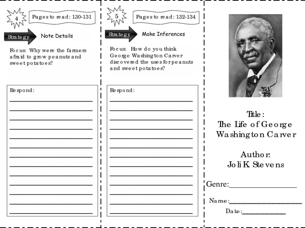 George Washington Carver Worksheets