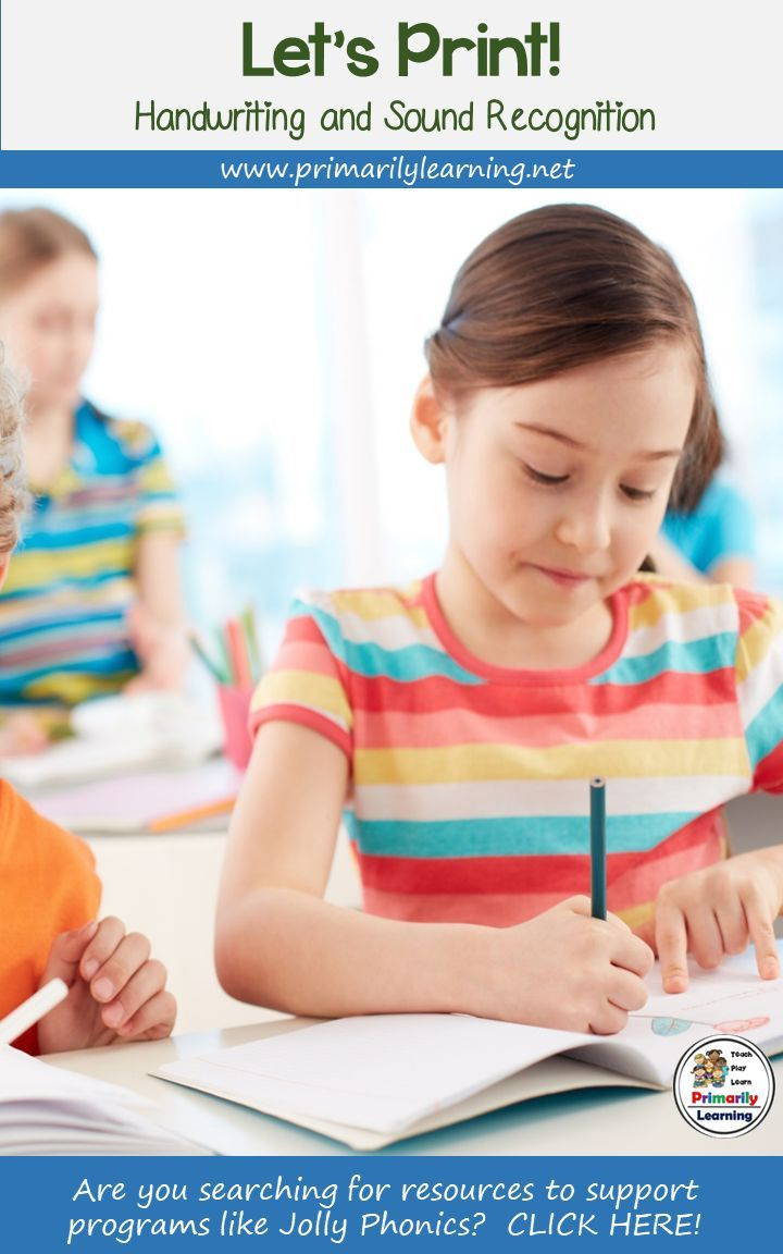 Handwriting Practice & Sound Recognition Complements Programs Like