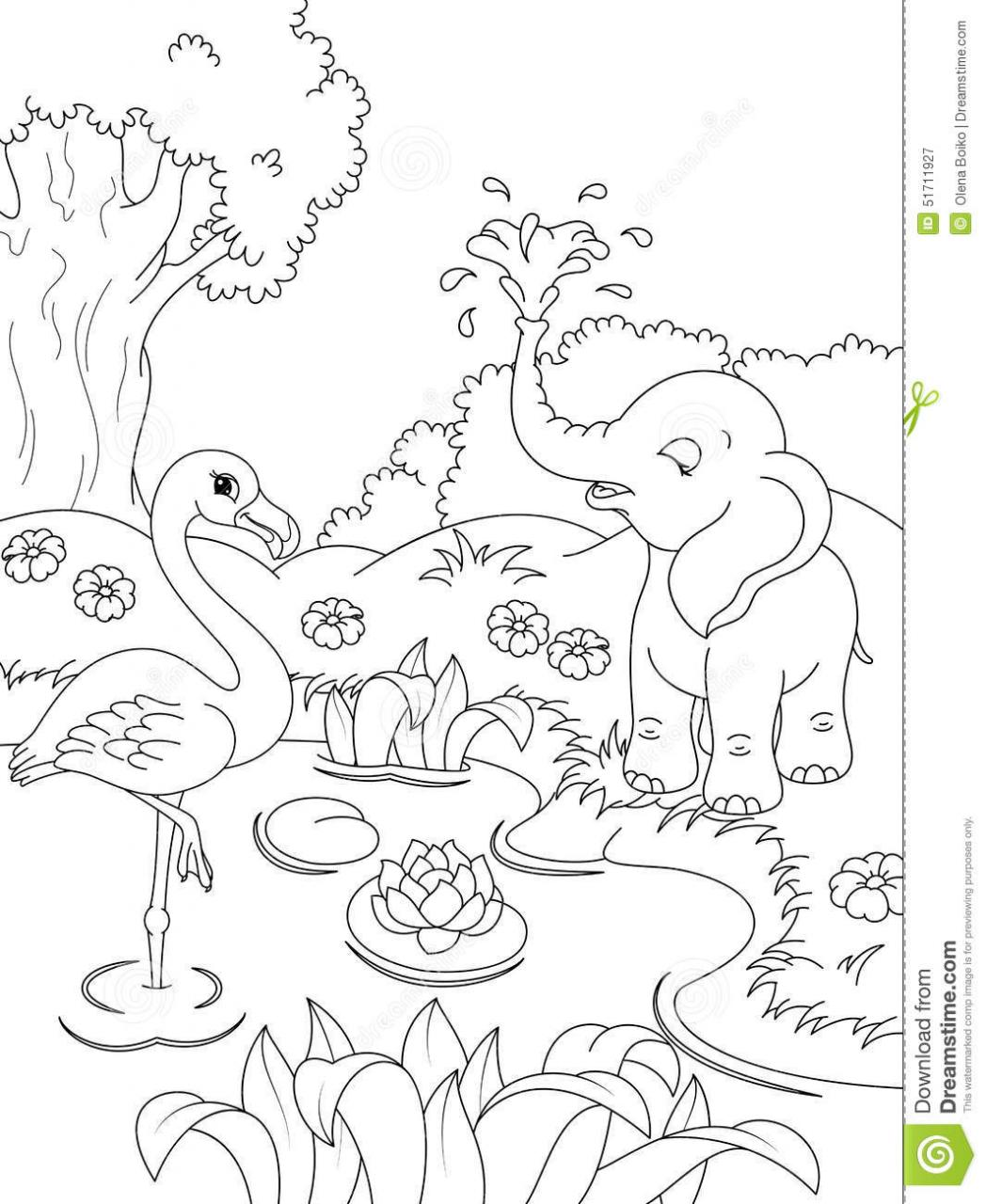 Impressive Nature Coloring Pages To Print Wonderful Colouring