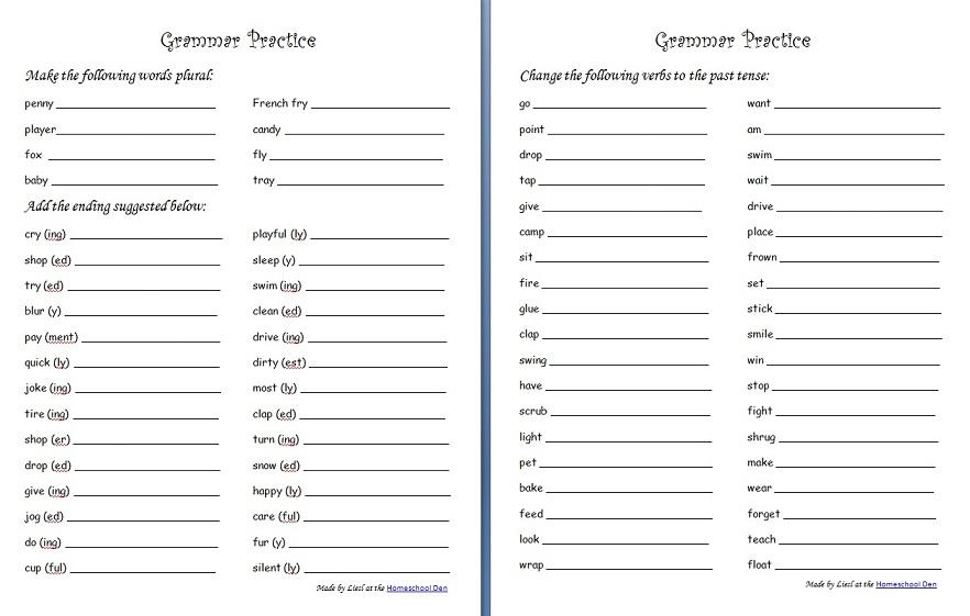 Irregular Past Tense Worksheets The Best Worksheets Image