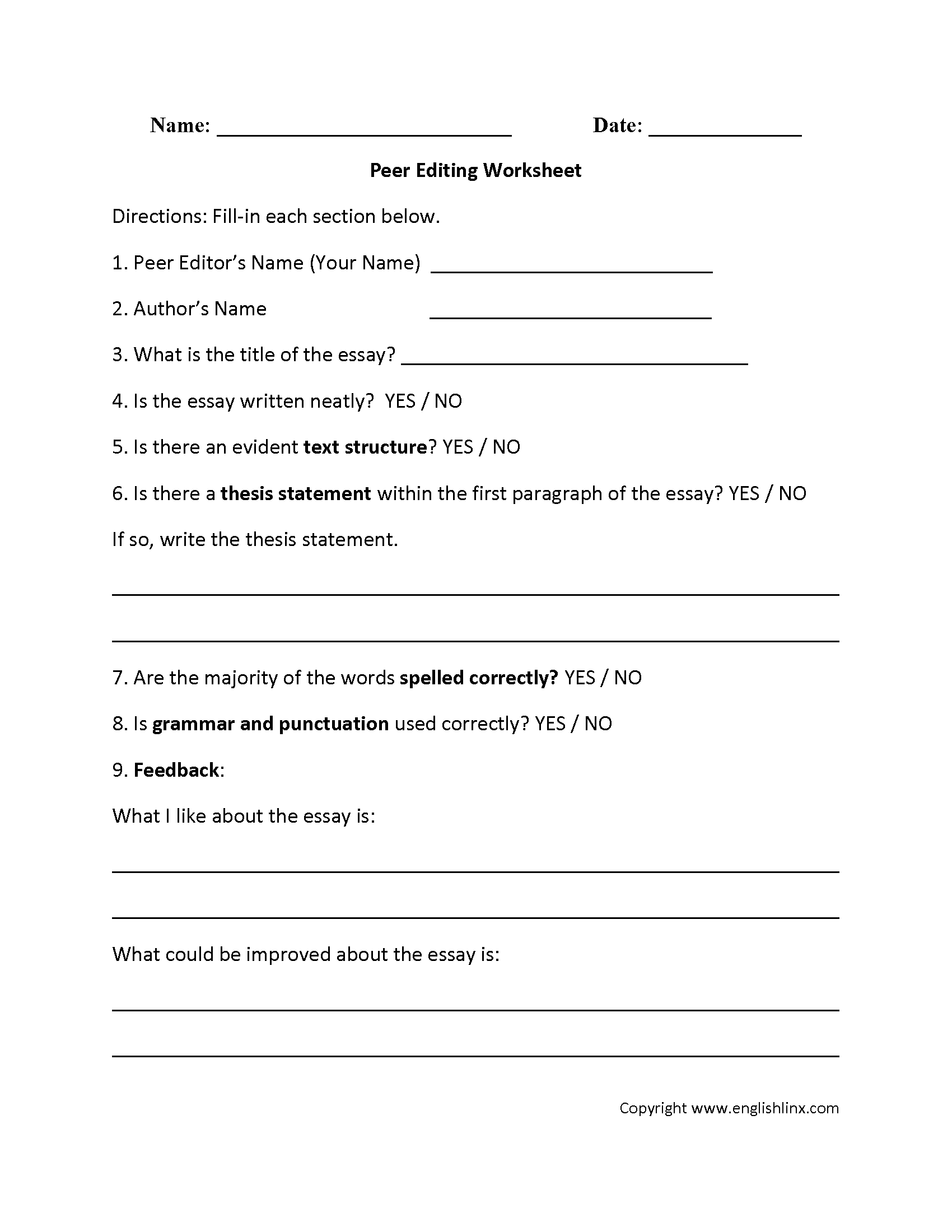 Kids  Editing Worksheets 4th Grade  Best Daily Math Ideas Year