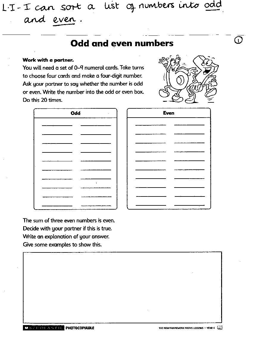 Kids  Worksheets For Year 4 English  Homework Worksheets Year