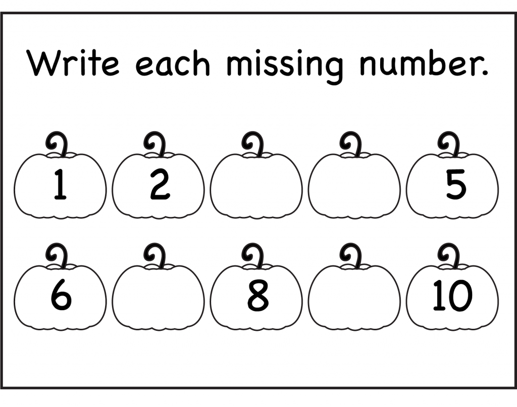 Kindergarten  Numbers Worksheets For Kindergarten Worksheet Math