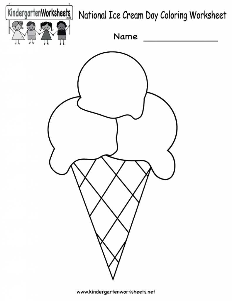 Kindergarten Kids  Free Printable Language Arts Worksheets  Letter