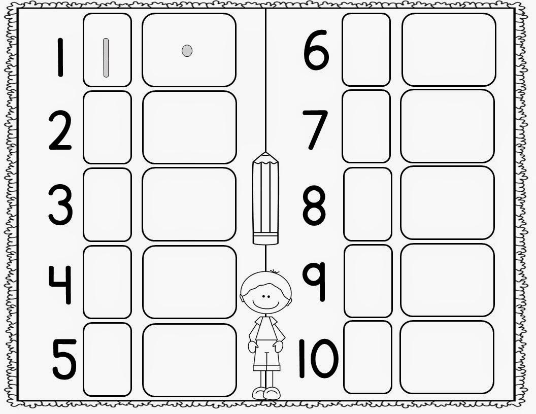 Kindergarten Number Sense Worksheets