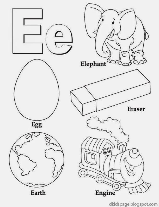 Letter E Worksheets For Toddlers The Best Worksheets Image