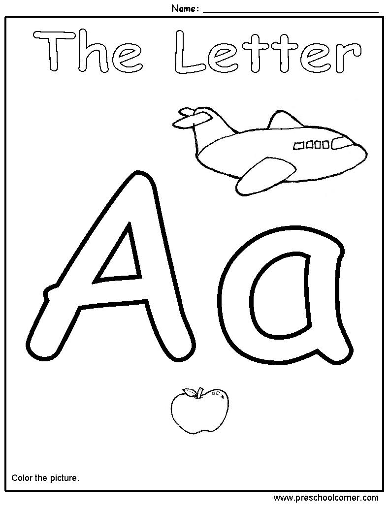 Letter Worksheets For Preschool Free 177062