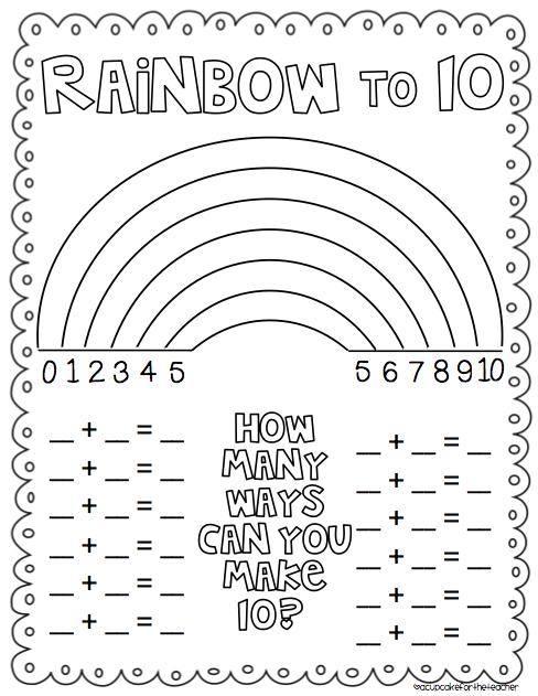 Making 10 Worksheet First Grade
