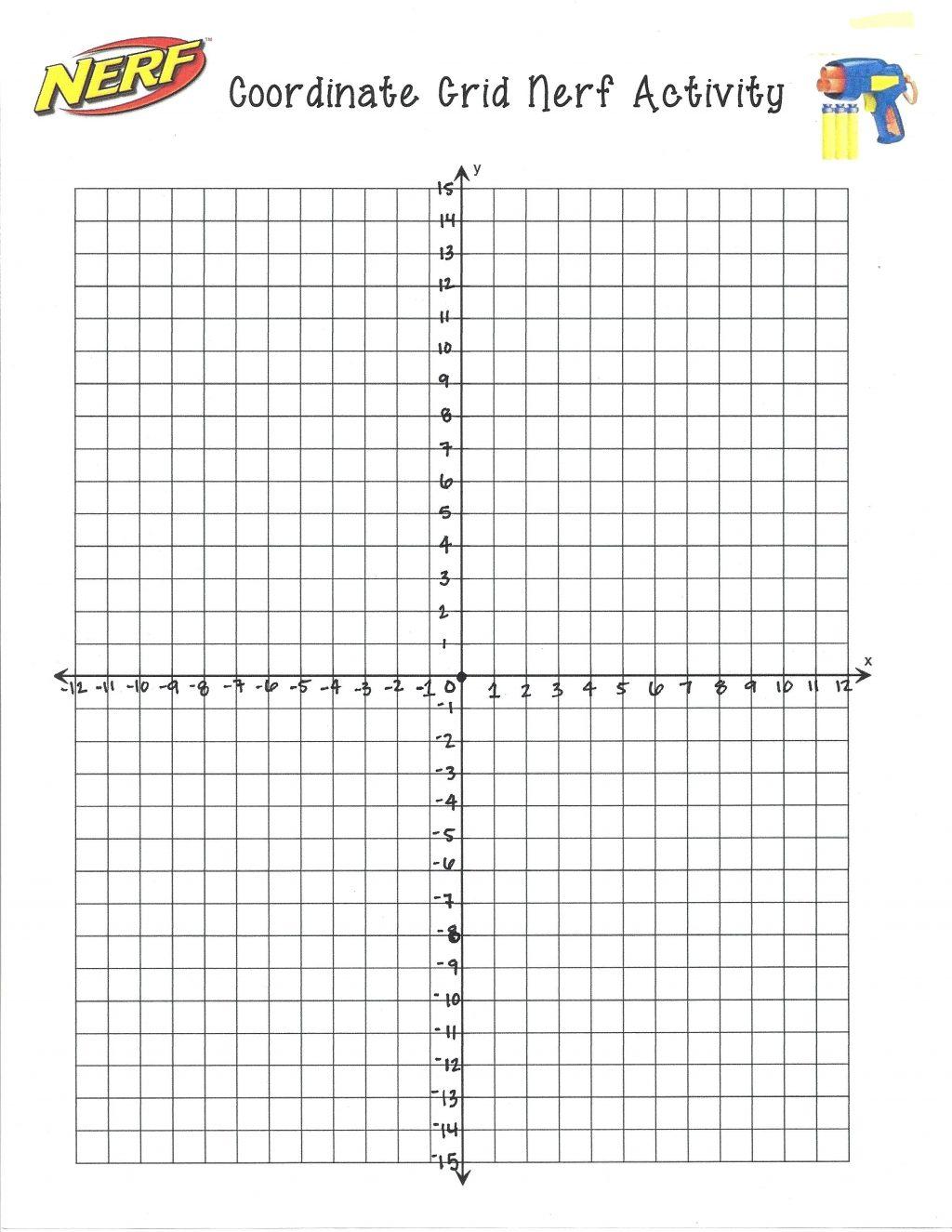 Math Gridctures Worksheet Coordinate Plane Worksheets 6th Grade