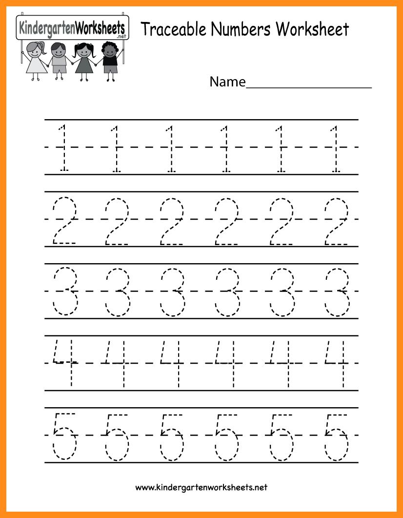 Math Worksheets Tracing Numbers Pdf Free Worksheet Printables