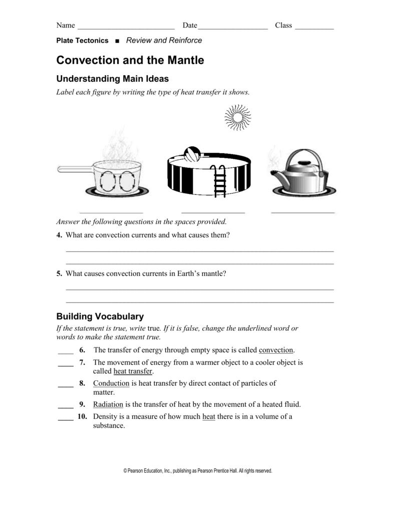 convection currents worksheet kidz activities. Black Bedroom Furniture Sets. Home Design Ideas