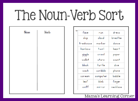 Parts Of Speech Noun Worksheets The Best Worksheets Image