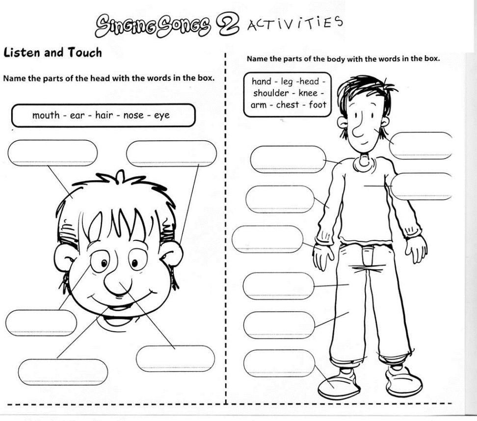 Preschool Worksheets Age 4 Experience Print English Worksheet For