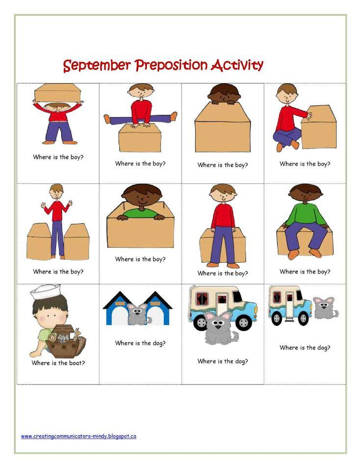 Preschool Worksheets For Spatial Concepts 409370