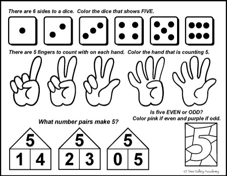 Printable Math Worksheets For Toddlers Best Of Number Bonds To 5