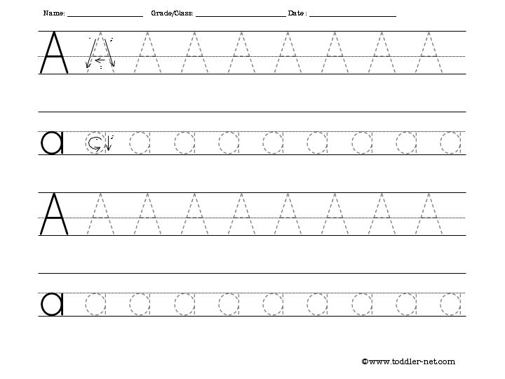Printable Trace Letters Worksheets The Best Worksheets Image