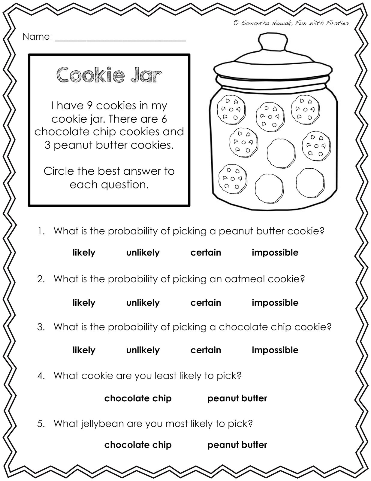 Probability Math Worksheet The Best Worksheets Image Collection