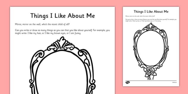 Self Esteem Worksheets For Children The Best Worksheets Image