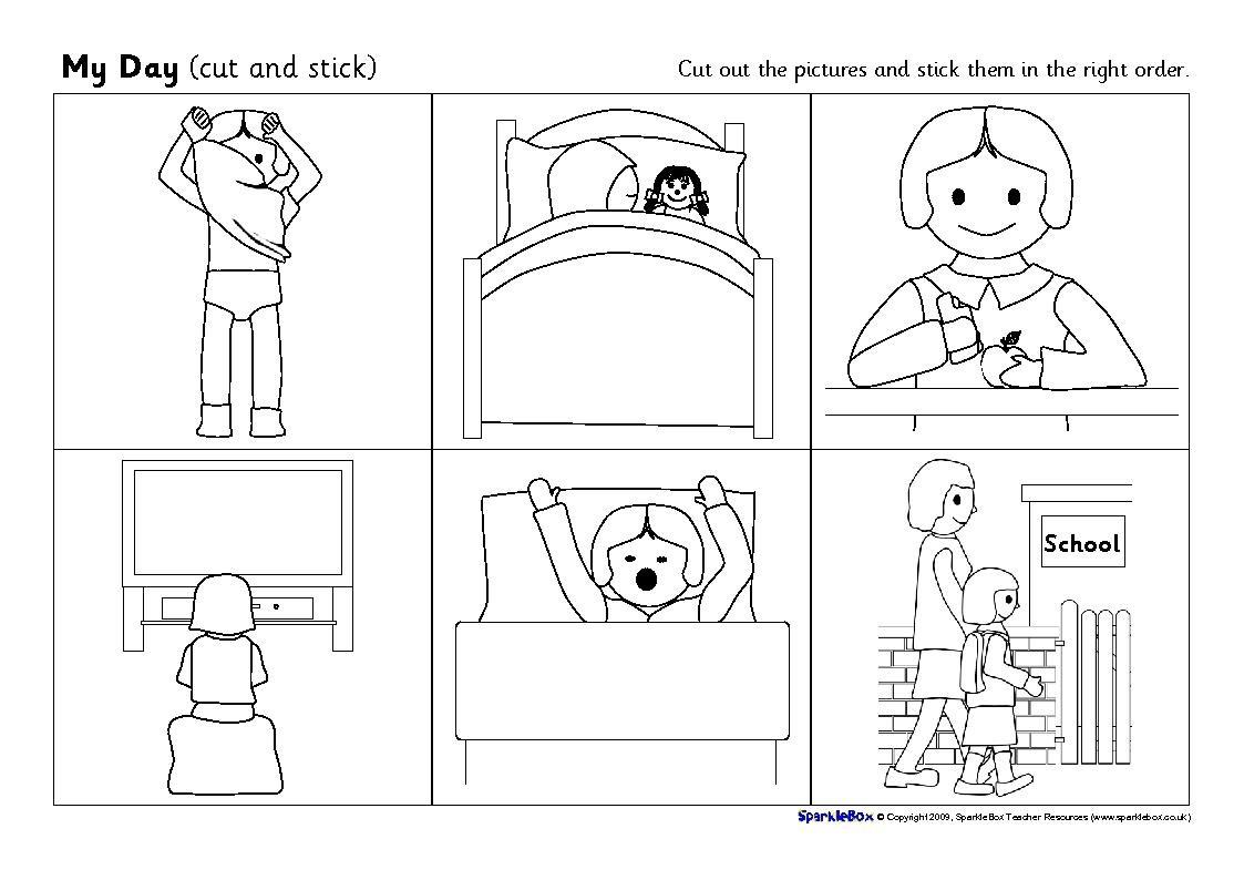 Story Sequencing Worksheets For Kindergarten The Best Worksheets