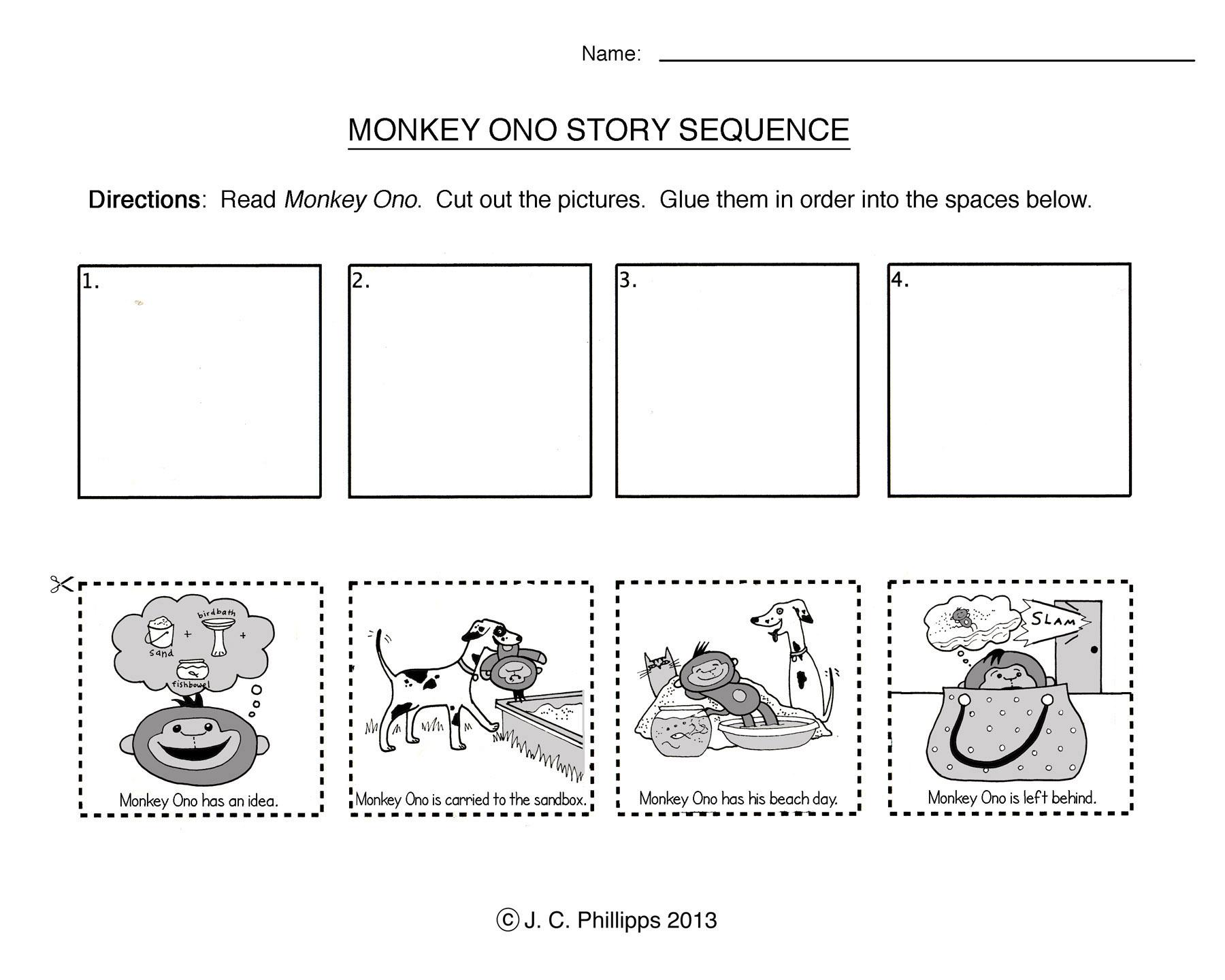 Story Sequencing Worksheets Kindergarten The Best Worksheets Image