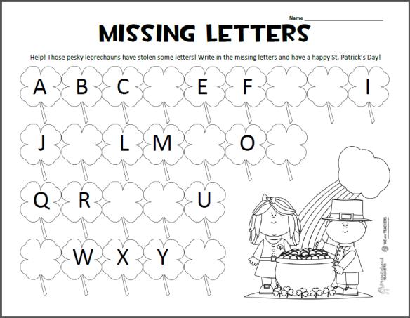 Worksheets Abc For Kindergarten 45165