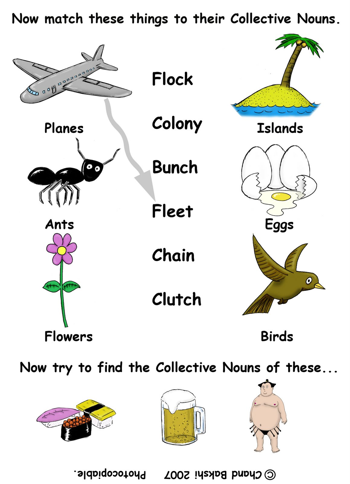 Year 1 English Worksheets Online