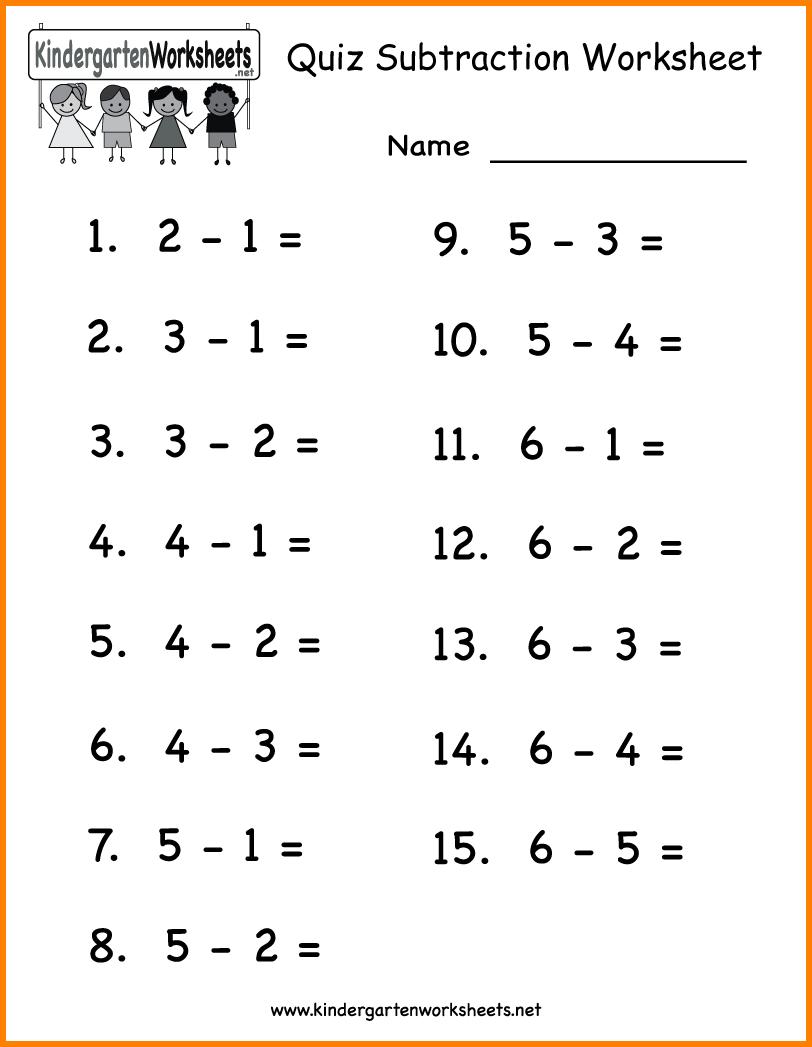 11 Easy Math Worksheets