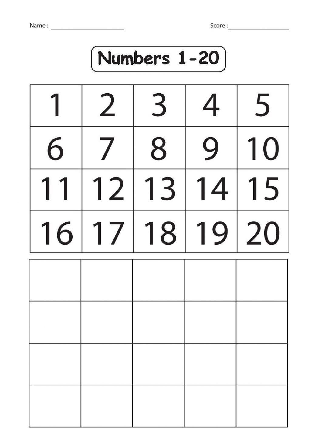 Activities  Kindergarten Number Worksheet  Www Creatorizt Com