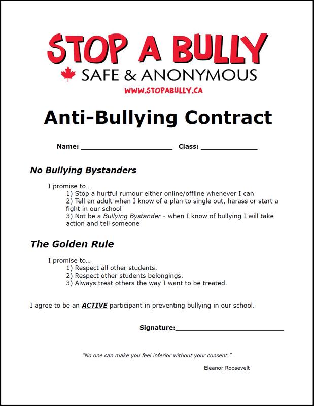 Anti Bullying Worksheet 503592