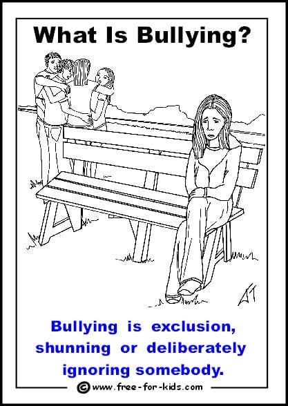Anti Bullying Worksheet 503613
