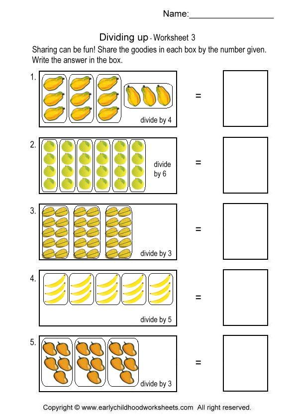 Beginning Division Worksheets With The Best Worksheets Image