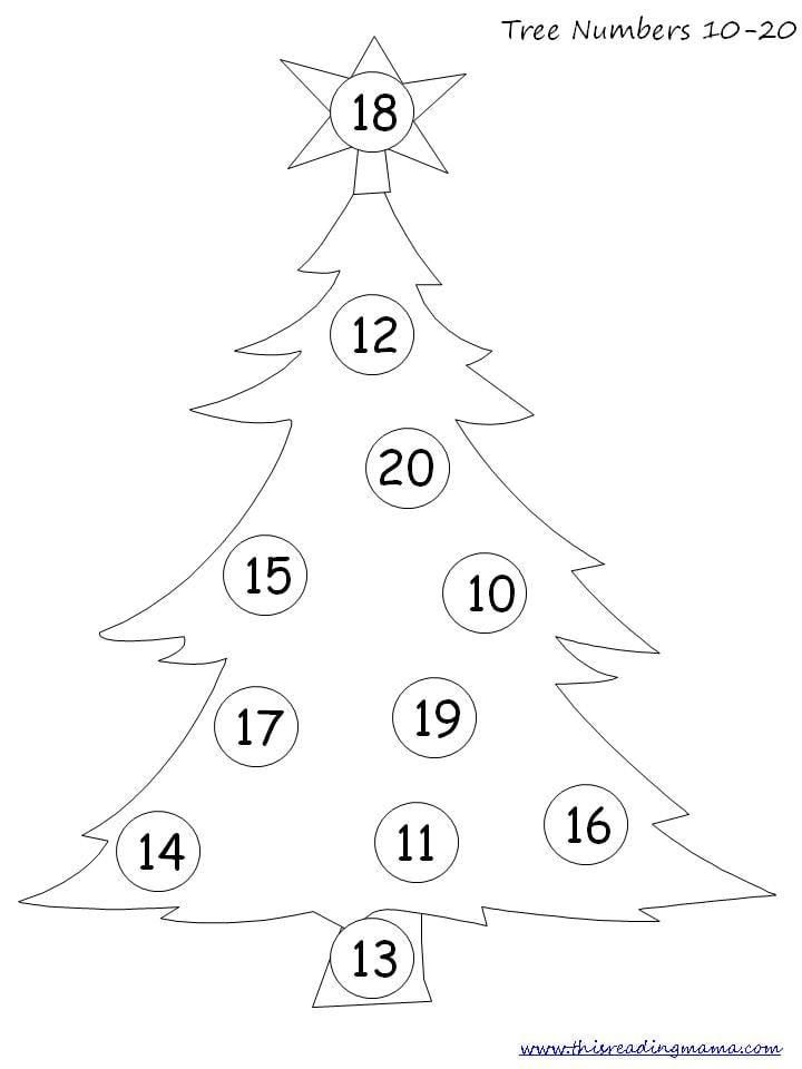 Christmas Math Worksheets For Pre K 1325882