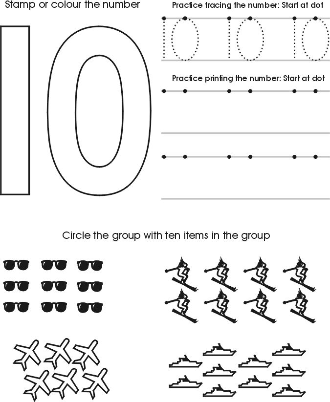 Collection Of 10 Worksheets