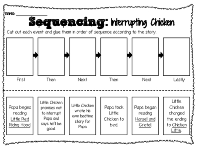 Collection Of 1st Grade Sequencing Worksheets
