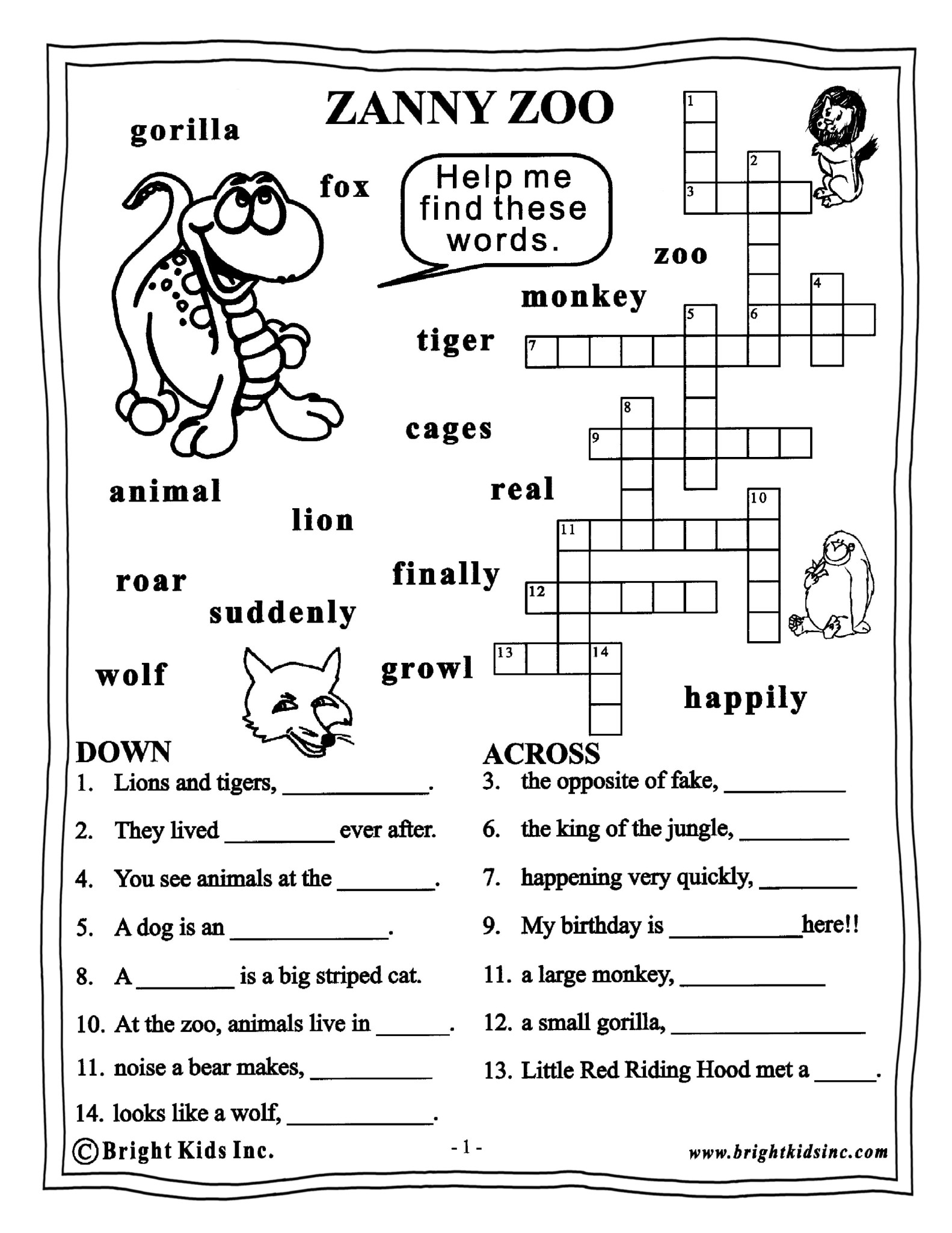Collection Of English Worksheets For Class 3