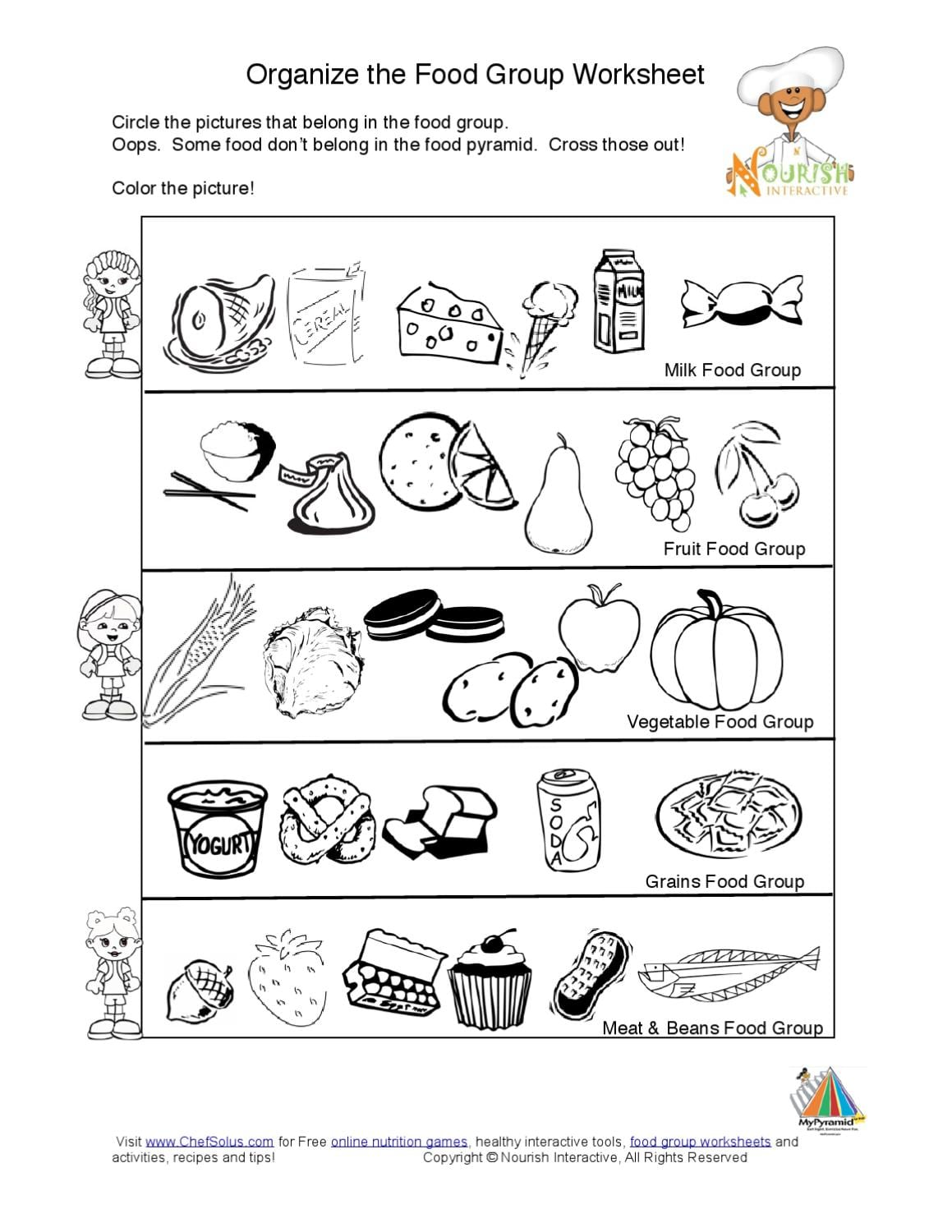 Collection Of Grouping Worksheets For Kindergarten