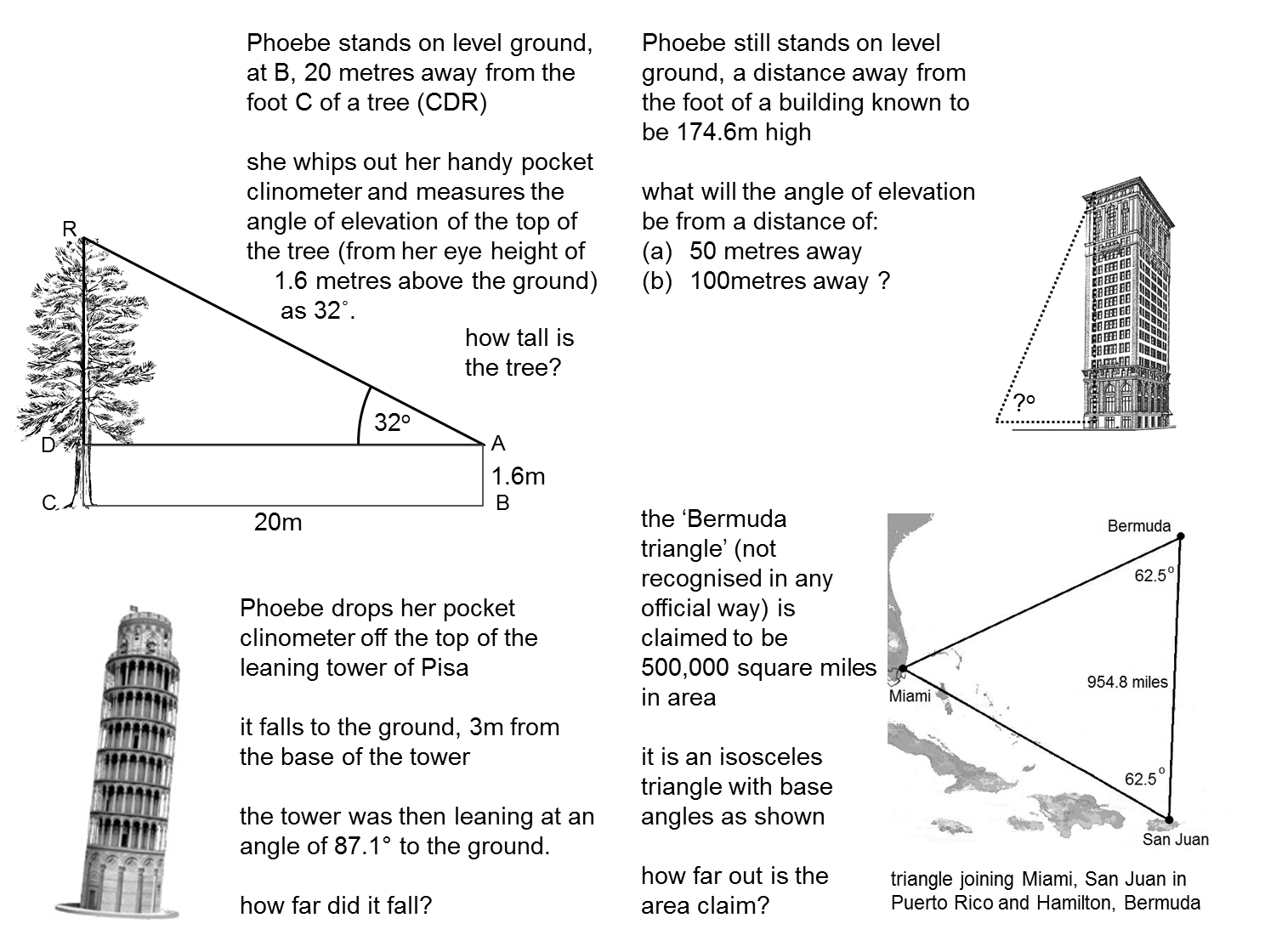 Collection Of Maths Worksheets Trigonometry
