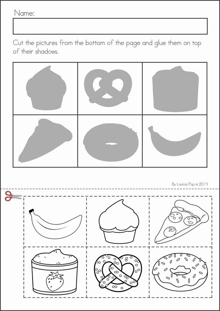 Collection Of Preschool Worksheet Food