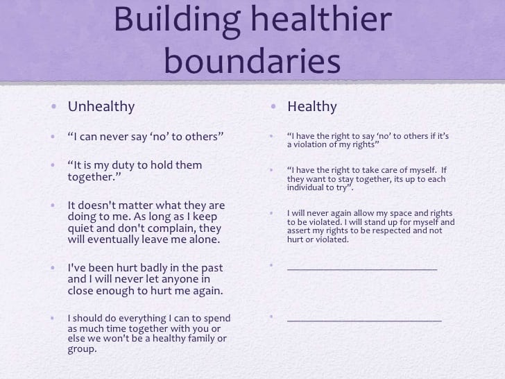 Collection Of Setting Boundaries Worksheet