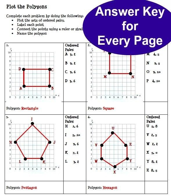 Coordinates Math Worksheets Pdf 1240228