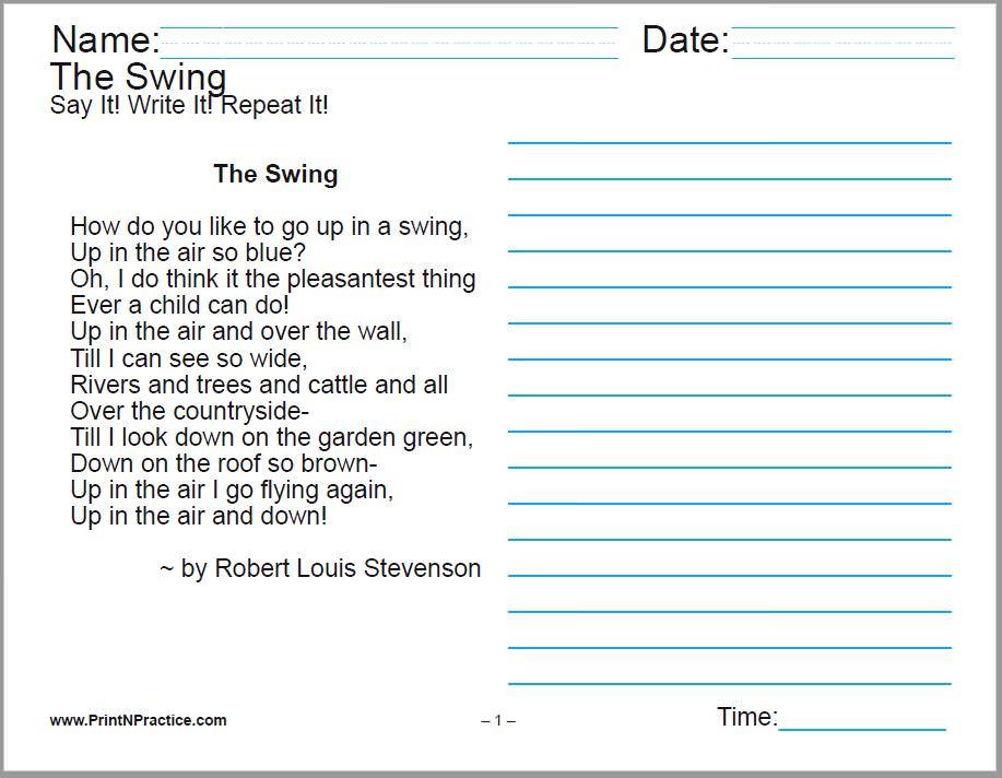 Cursive Handwriting Worksheets 6th Grade 369157