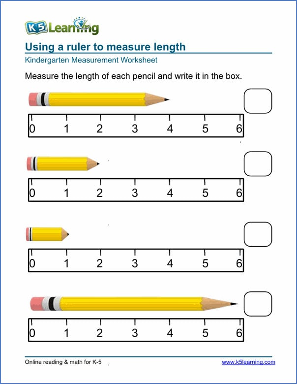 Free Printable Preschool Measurement Worksheets 1382841