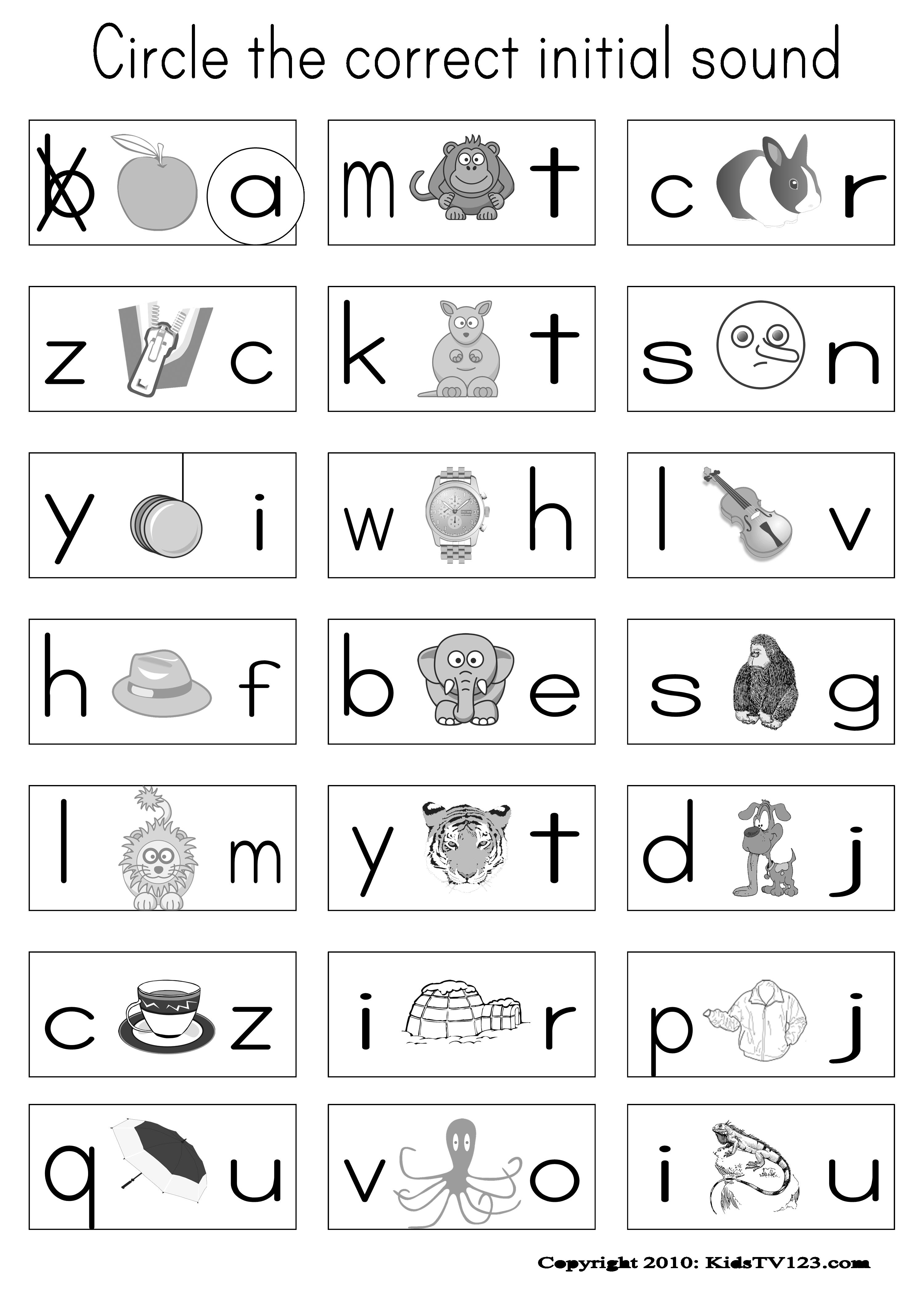 Free Printable Preschool Worksheets Kg1 On And Under 483183