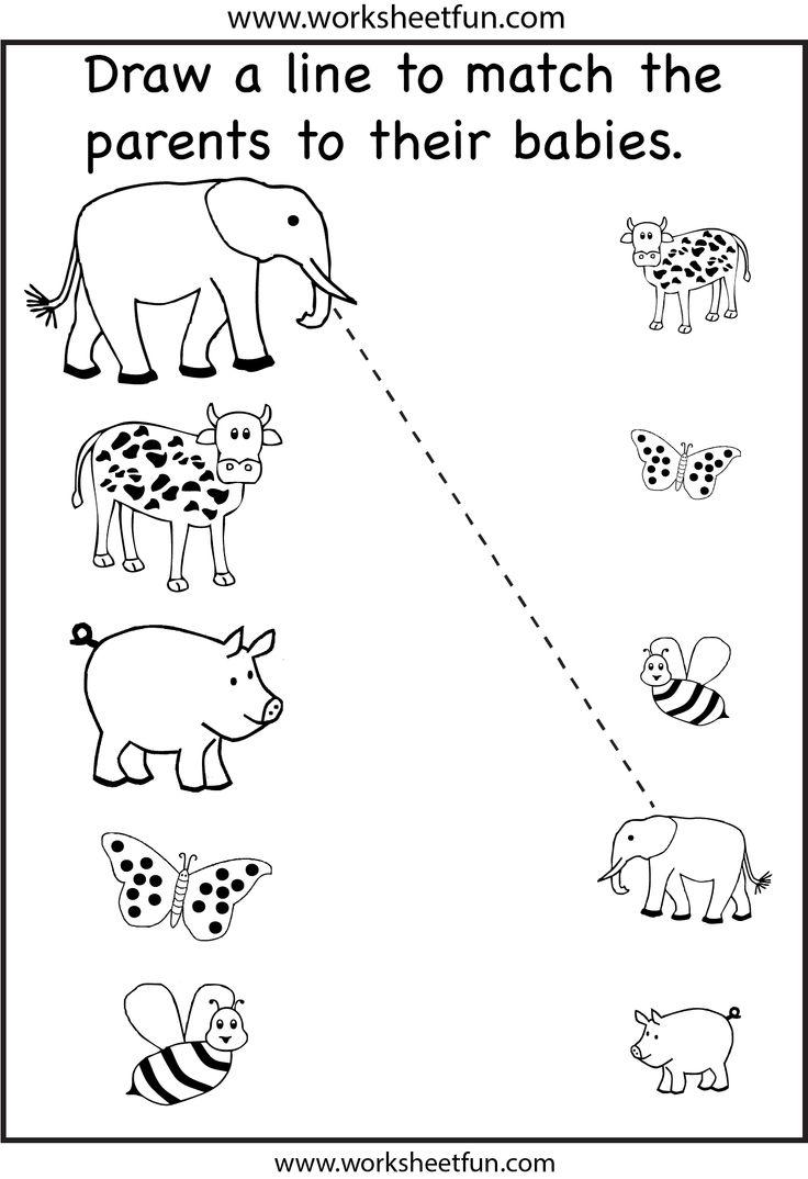 Free Printable Preschool Worksheets Matching 878312