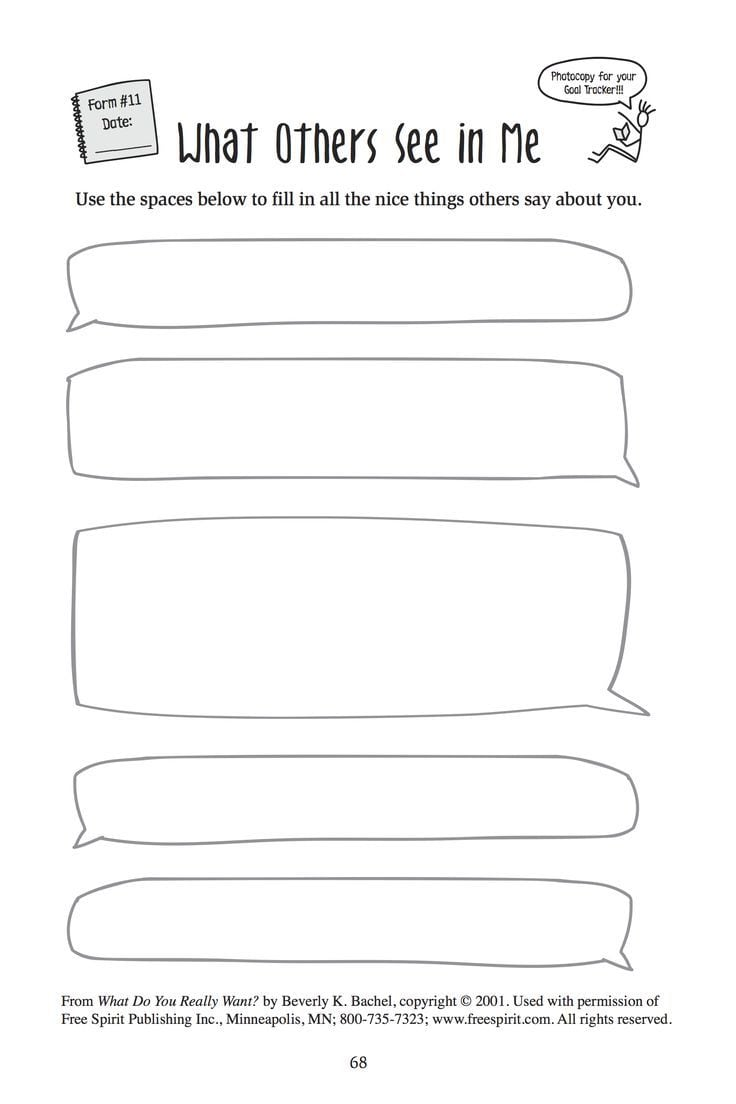 Free Printable Worksheet For School Counselors  What Others See In